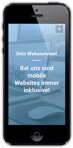 mobile Website inklusive